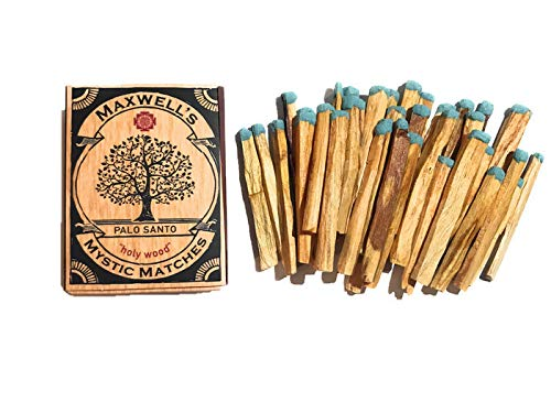 Maxwell's Mystic Matches Palo Santo Incense Match Sticks | Peruvian