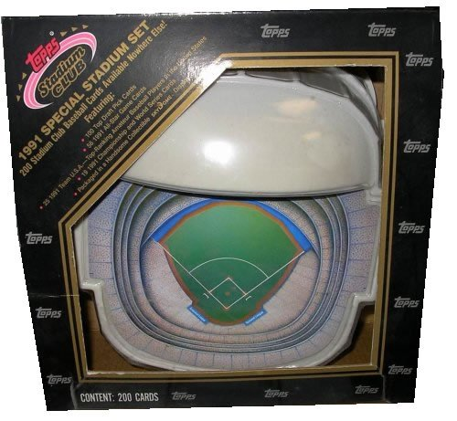 Topps 1991 SPECIAL STADIUM CLUB SET PACKED IN THE TORONTO...