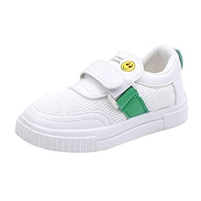 4bd4fdac9ef32 PRINCER Toddler Mesh White Shoes Girls Cartoon Sport Sneakers Infant ...