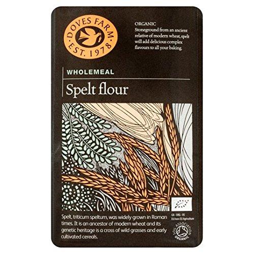 1kg palomas Granja Orgánica Grano entero Harina de espelta: Amazon.es: Alimentación y bebidas