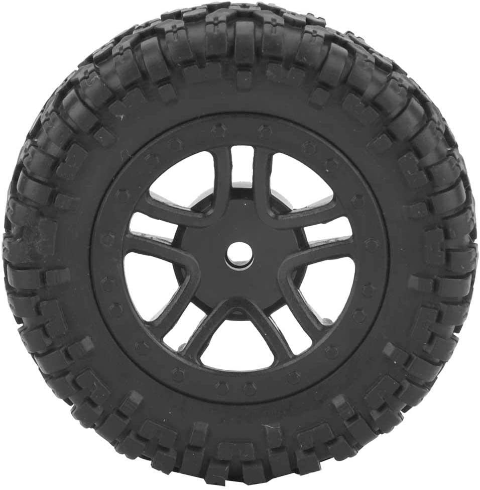 RC Truck Wheel Tyre Front Rear Wheel Rims RC Car Upgrade Parts with Hub for 9301 1//18 Model Car VGEBY1 RC Tires