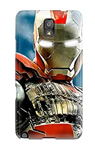 Jim Shaw Graff's Shop Hot 5315770K80302497 High-quality Durable Protection Case For Galaxy Note 3(iron Man 2 Imax Poster)
