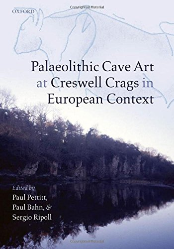 Used, Palaeolithic Cave Art at Creswell Crags in European for sale  Delivered anywhere in Canada
