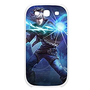 Ezreal-002 League of Legends LoL case cover for Samsung Galaxy S3, I9003 - Plastic White