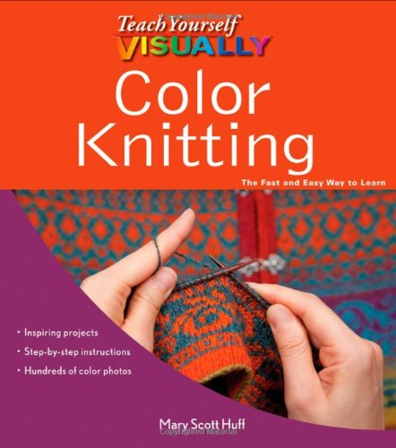 Teach Yourself VISUALLY Color Knitting product image
