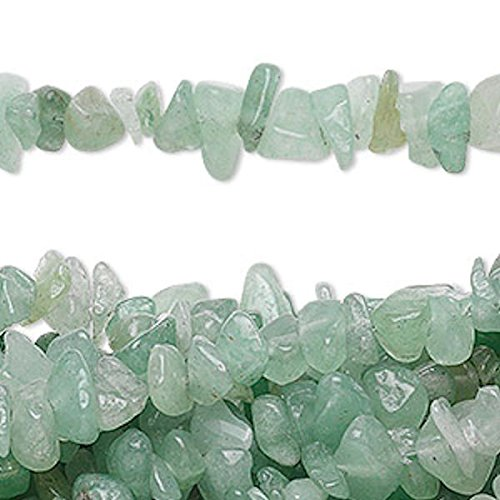 reen Aventurine Medium Chip Beads for Jewelry Making, Supply for DIY Beading Projects (Aventurine Glass Ring)
