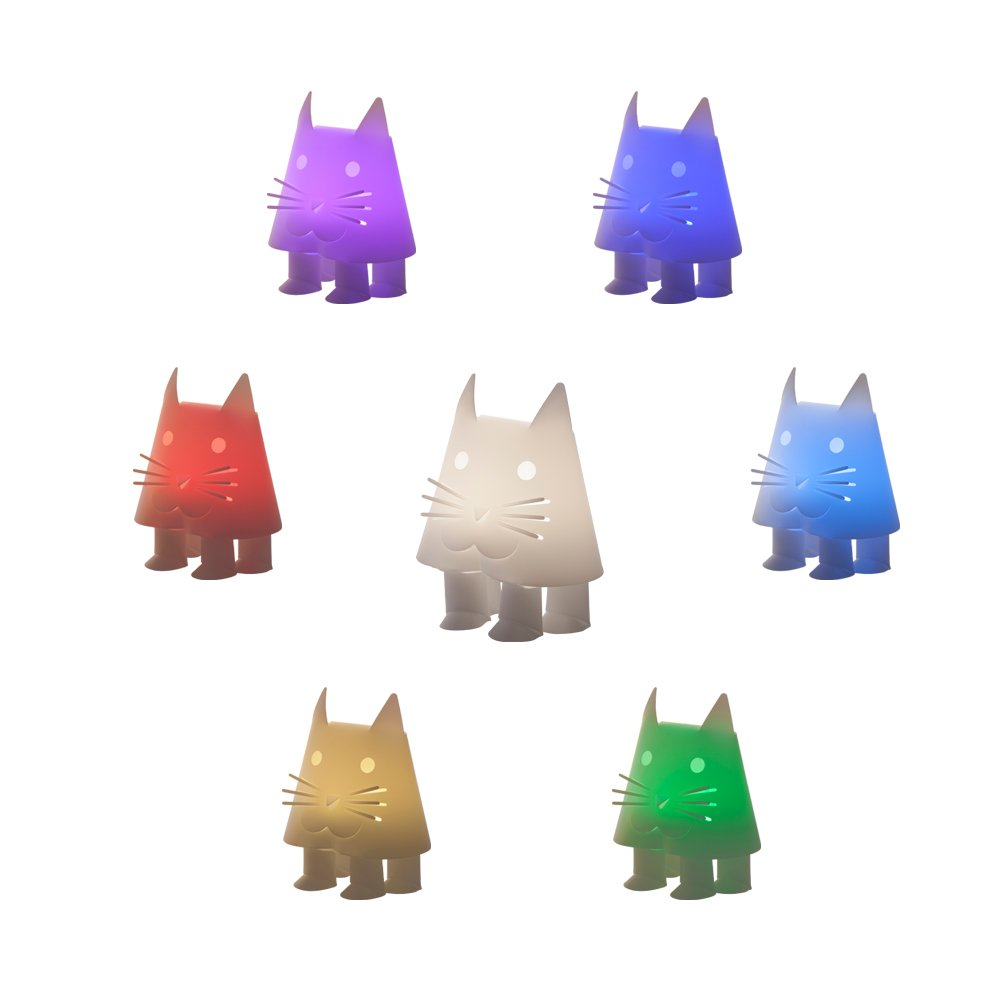 ZzzooLIGHT Mini Gift Collection Animal Light Cartoon Animal Light Children Night light Cat Night Light (multi-color)