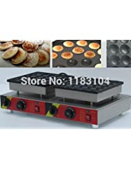 Commercial Use Non Stick 50pcs 110v 220v Electric Dutch Mini Pancakes Poffertjes Machine Baker Maker Iron Mold Pan