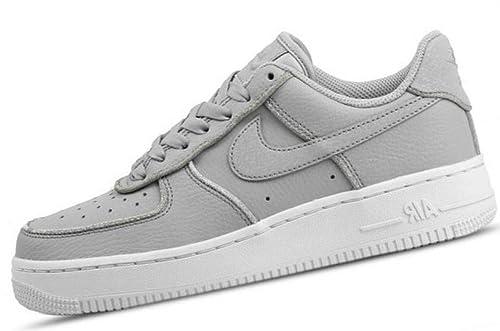 innovative design c3d2e b6d61 Nike W Air Force 1 Lo, Zapatillas de Deporte para Mujer, Wolf GreyWhite  002, 38.5 EU Amazon.es Zapatos y complementos