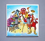 Muppets Dr. Teeth Electric Mayhem Double Switch Plate Switchplate