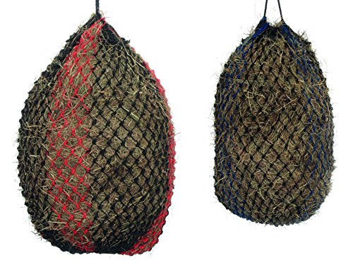 Shires Deluxe Hay Net Large Black/Red