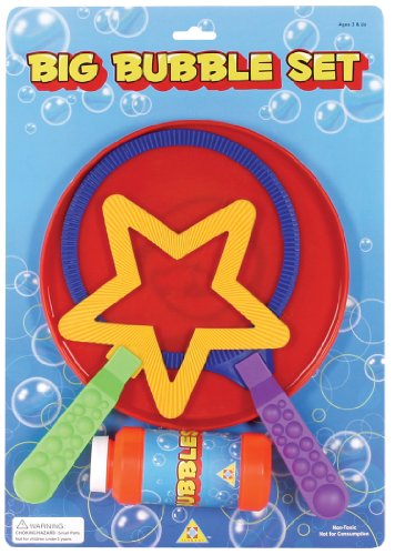 Toysmith Big Bubble Wand Set ()