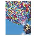 THF Full Drill 5D Diamond Painting Balloon House Embroidery DIY Cross Stitch Home Decor 30X40cm