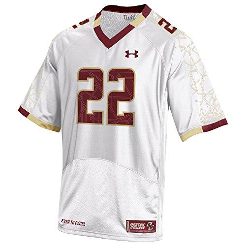 NCAA Boston College Eagles Football Replica Jersey, Large, White