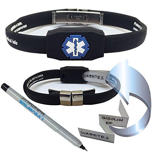 The Messenger Medical Alert Bracelet - -