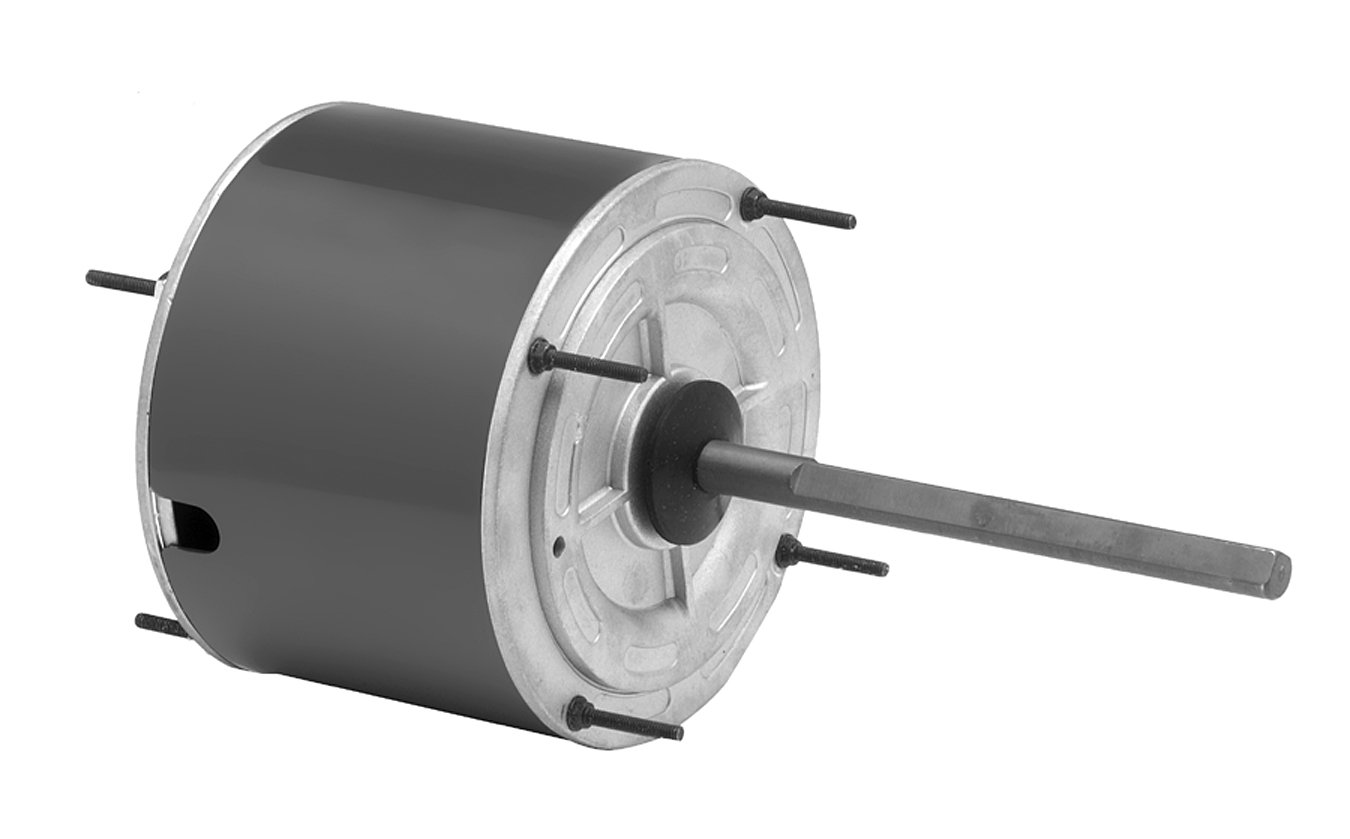 Fasco D7909 5.6-Inch Condenser Fan Motor, 1/4 HP, 208-230 Volts, 1075 RPM, 1 Speed, 1.8 Amps, Totally Enclosed, Reversible Rotation, Ball Bearing