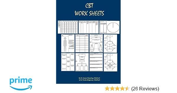 Hot Topic Behavioral Treatments For >> Amazon Com Cbt Worksheets Cbt Worksheets For Cbt