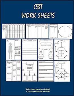 Amazon.com: CBT Worksheets: CBT Worksheets for CBT therapists in ...