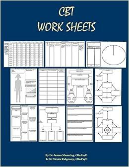 cbt homework sheets
