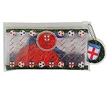 England Football Team - Filled Pencil Case Stationery Set, Rulers, Protracter, Set Squares, Gel Pen