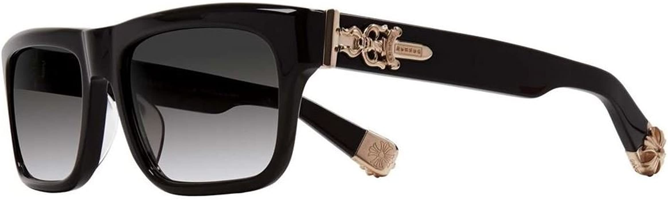 e5526b4c6b75 Chrome Hearts - Sluss Bussin - Sunglasses (Black - Gold Plated
