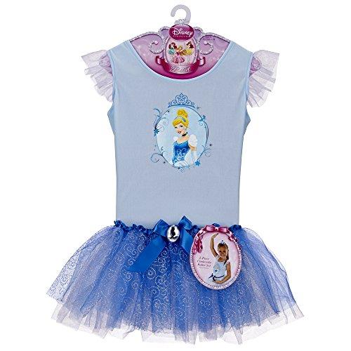 Big Girls' Cinderella Ballet Dress Size 4/6 by Jakks (Cinderella Tutu Dress)