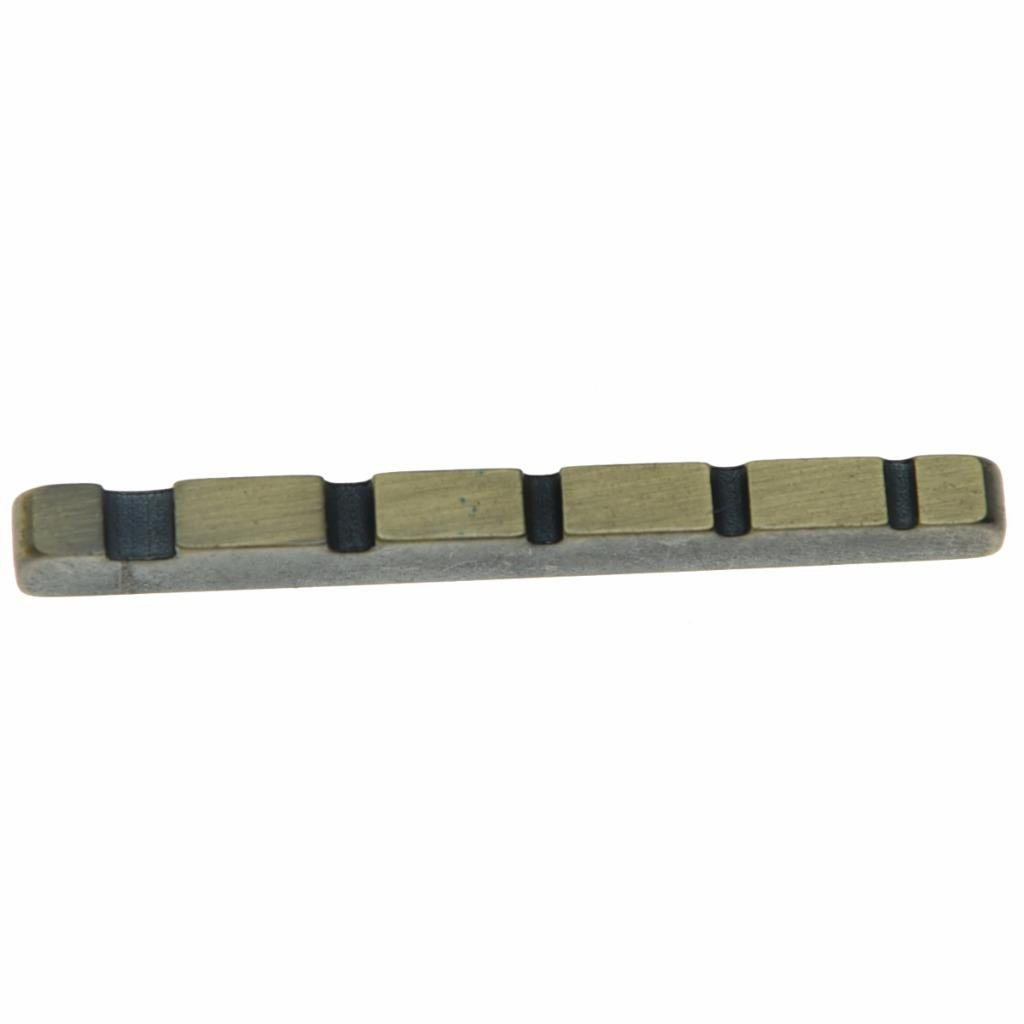 KAISH 45mm Pre-slotted Brass Metal 5 String Bass Nut 1-3/4