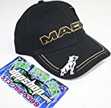 Mack bulldog semi truck truckers hat ball cap snap back diesel gear tractor dog gold white black embroidered