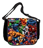 Silver Buffalo MH0101 Marvel Heroes 15-Inch by 12-Inch Messenger Bag, Multi-Color