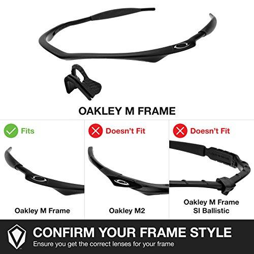 Verres Revant pour monture Oakley M Frame Sweep Polarisés 4 Combo Pack de paires K018