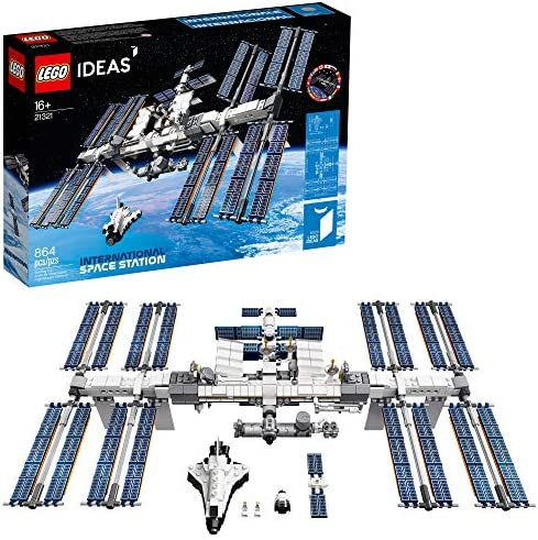 Lego Ideas New 2020 International Space Station 21321 Building Kit, Adult LEGO Set for Display, Makes a Great Birthday Present, New 2020 (864 Pieces)