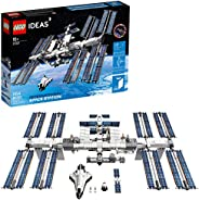 LEGO Ideas International Space Station 21321 Building Kit, Adult Set for Display, Makes a Great Birthday Prese