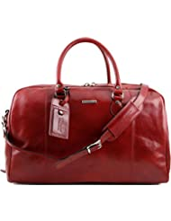 Tuscany Leather TL Voyager Travel leather duffle bag Leather Travel bags