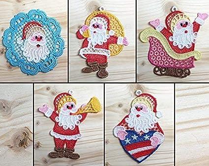 Amazon Com Louise S Country Closet Santa Claus Pack 2 Machine