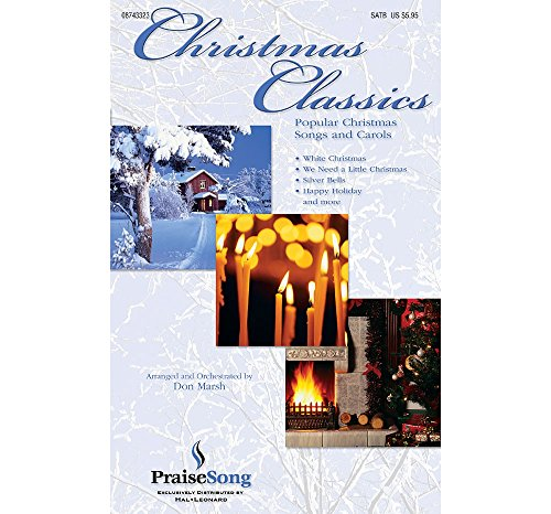 PraiseSong Christmas Classics (Collection) (Instrumental Pak) IPAKO Arranged by Don Marsh