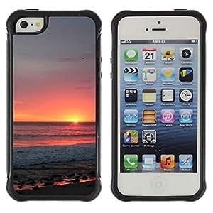 Pulsar iFace Series Tpu silicona Carcasa Funda Case para Apple iPhone SE / iPhone 5 / iPhone 5S , Ciel