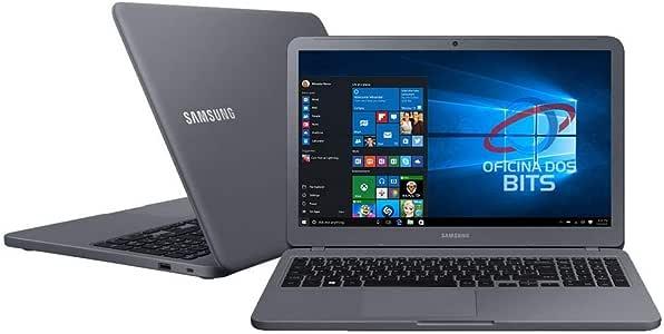 "Notebook Samsung Essentials E30, Intel Core i3 7020U, 4GB RAM, 1TB, tela 15,6"" LED, Windows 10, NP350XAA-KF1BR"