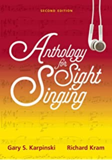 Manual for ear training and sight singing second edition gary s anthology for sight singing second edition fandeluxe Images