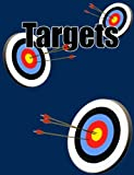 blank target paper - Targets Goals and Achievements Composition Notebook 7.44x9.69 Dk Blue 5 Comic: Blank 5 Framed Comic Paper for Targets, Goals, Notes, Bullet Lists, ... Designs, and Plans. Exercise Book or Journal.