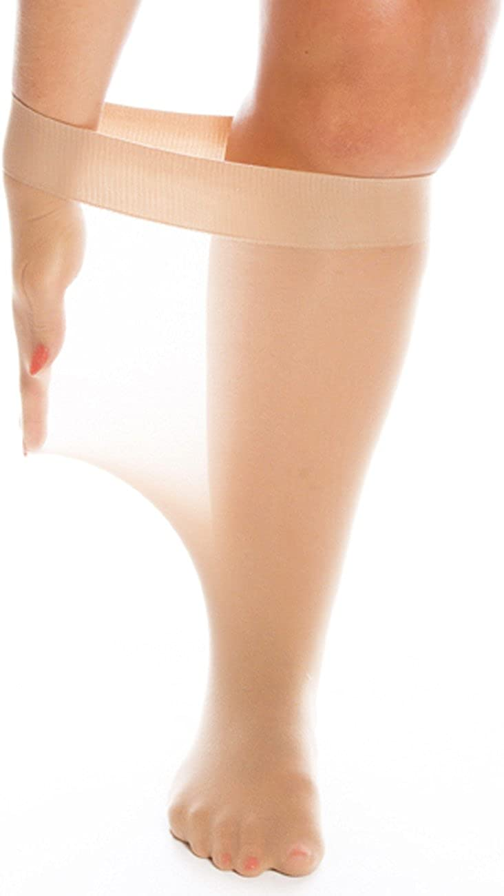 All Woman Super Wide Knee Highs 20 Denier 70cm Stretch PACK OF 3