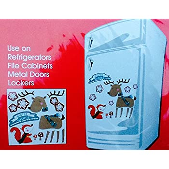 Amazon Com Holiday Decorative Fridge Magnet Set For