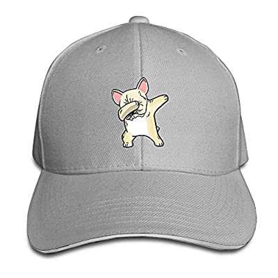 Fenme Dabbing Dog Unisex Sandwich Caps Cartoon Snapback Hats Funny Trucker Hats Graphic Snapback Cap