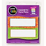 magnetic seating chart - Dowling Magnets DO-735205 Magnetic Name Plates, Geometric, Set of 20