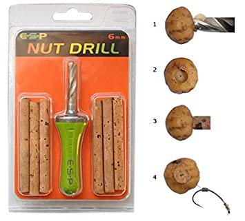 ESP NUT DRILL AND 4 CORK STICKS 8mm