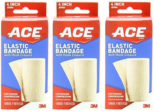 ace bandage with velcro 4 inch - 4
