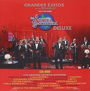 """LA SONORA SANTANERA """"DELUXE"""" CD + DVD [GRANDES EXITOS CON GRANDES ARTISTAS INVITADOS] LILA DOWNS,ROCIO BANQUELLS,DIEGO VERDAGUER,VICTOR GARCIA,PANDORA Y MAS......"""