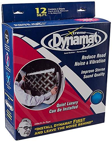 (10435 Dynamat Xtreme Sound Dampening Self-Adhesive Door Kit 4 Sheets 12