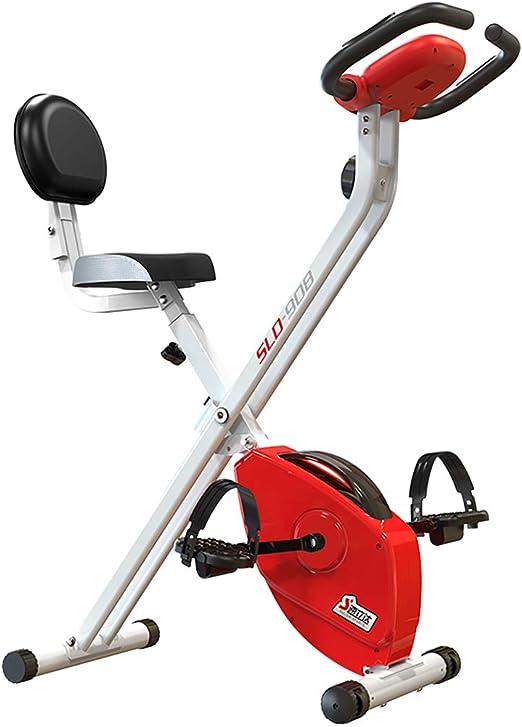 YL Bicicleta estática Vertical magnética Plegable con Pulso ...