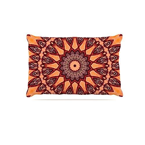 30 by 40\ Kess InHouse Iris Lehnhardt Flower Power  Abstract Fleece Dog Bed, 50 by 60 , Pink