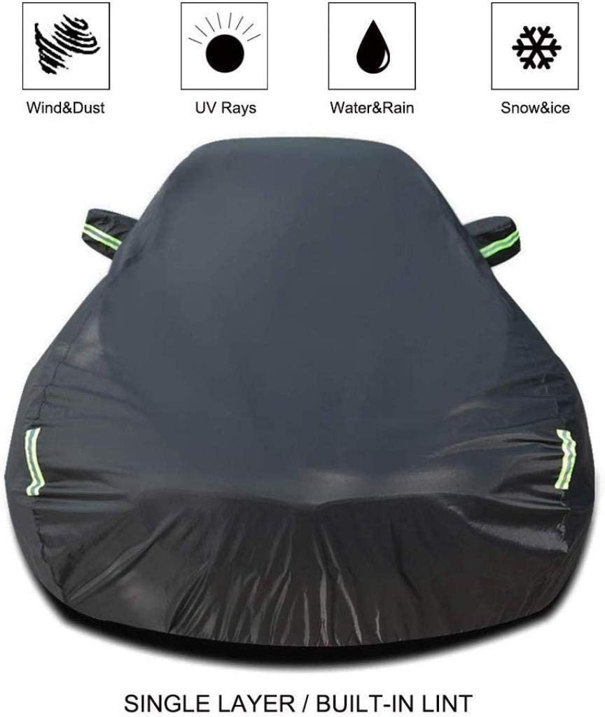 Cylficl Car Cover Compatible with Volkswagen Eos Car Cover Car Tarpaulin All Weather Rain Sunscreen Windproof Dustproof Outdoor Indoor Car Shield Color, Single Layer ,Single Layer